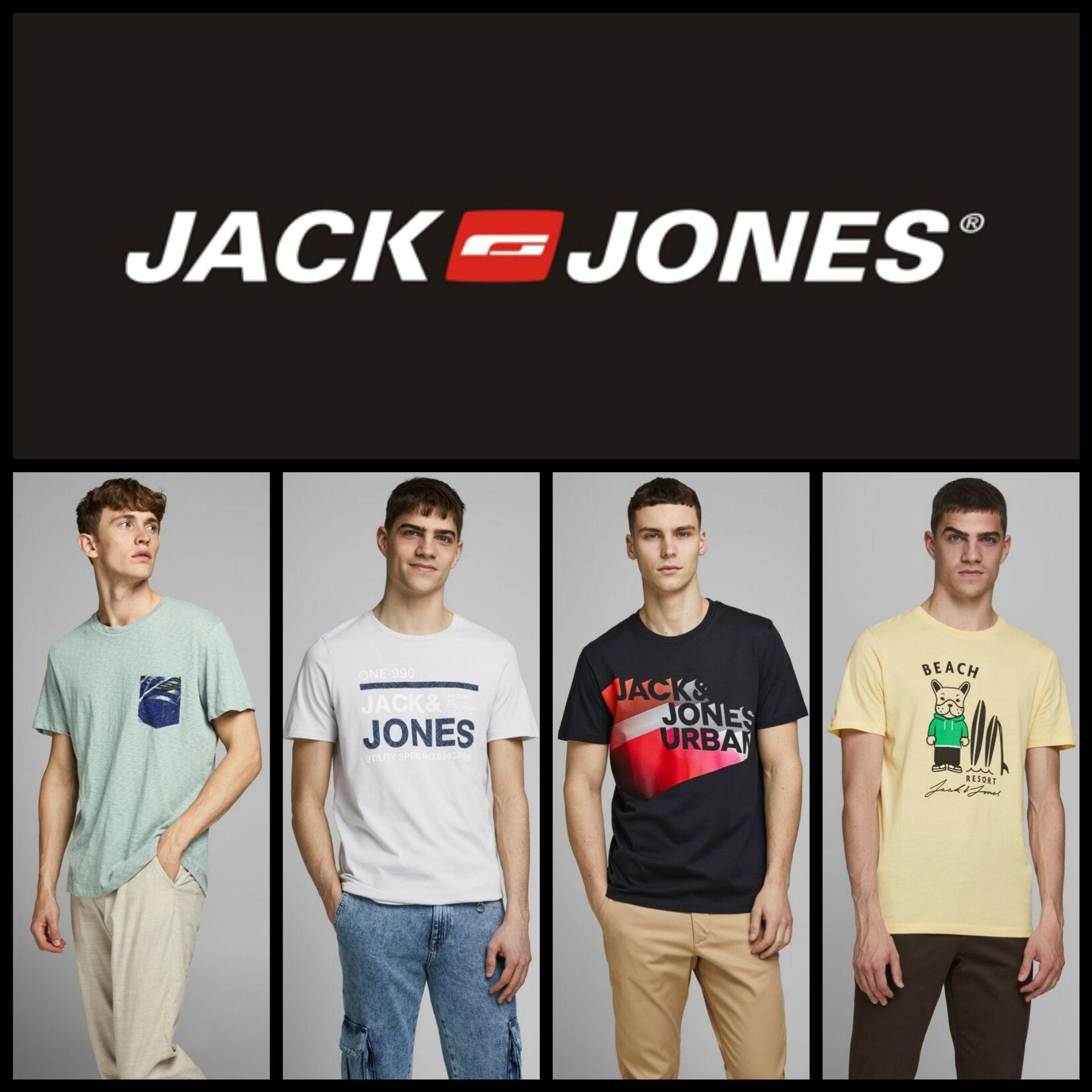 Recopilación Camisetas Jack&Jones para Hombre con Envío Gratis