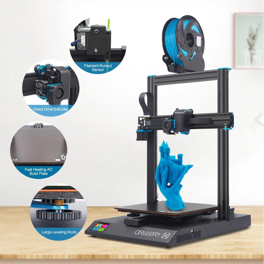 rtillery-Kit de impresora 3D Sidewinder X1 SW-X1