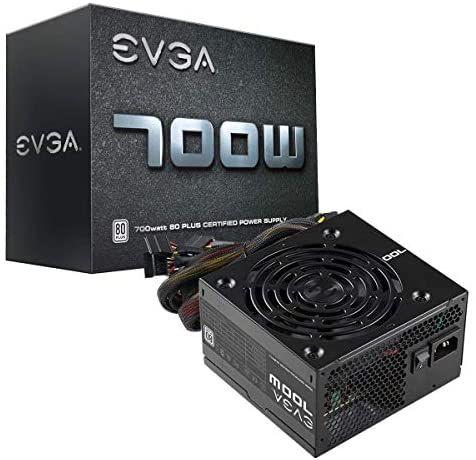 Fuente de alimentación EVGA 700 W1, 80+ White 700W