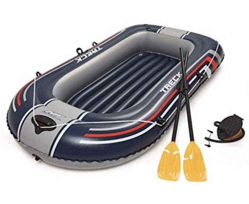 Bestway Barca Hinchable+remos+hinchador 228x127cm