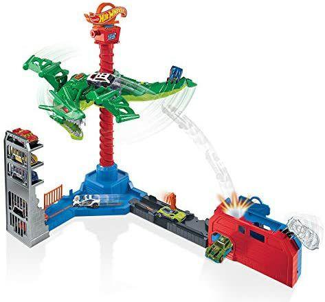 Pista de coches Hot Wheels, Dragon Robotico