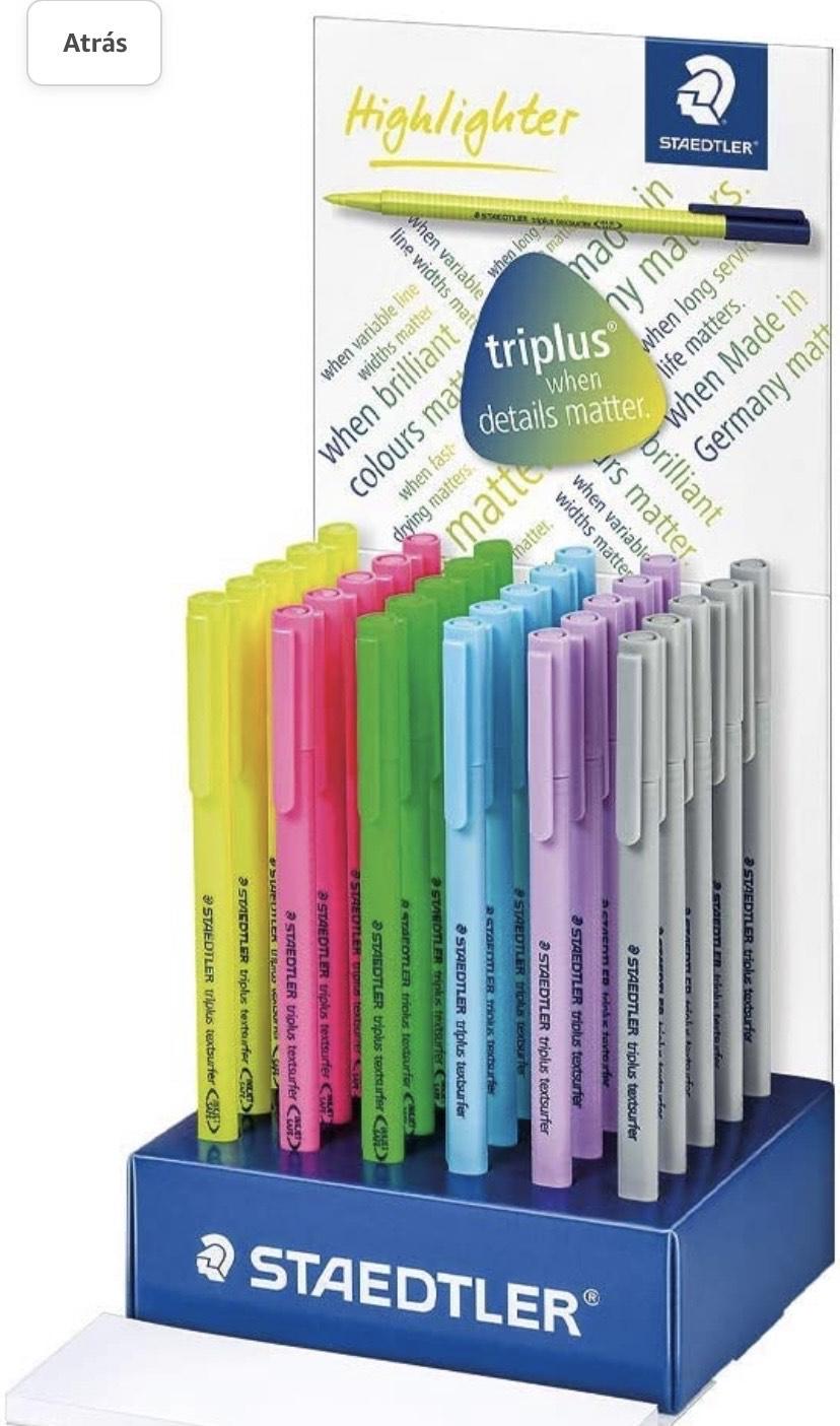 Staedtler Triplus TextSurfer 30 Rotuladores de colores variados de punta fina