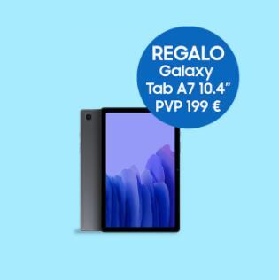 Galaxy Tab A7 Gratis por la compra de un Galaxy S21 / S21+ / S21 Ultra