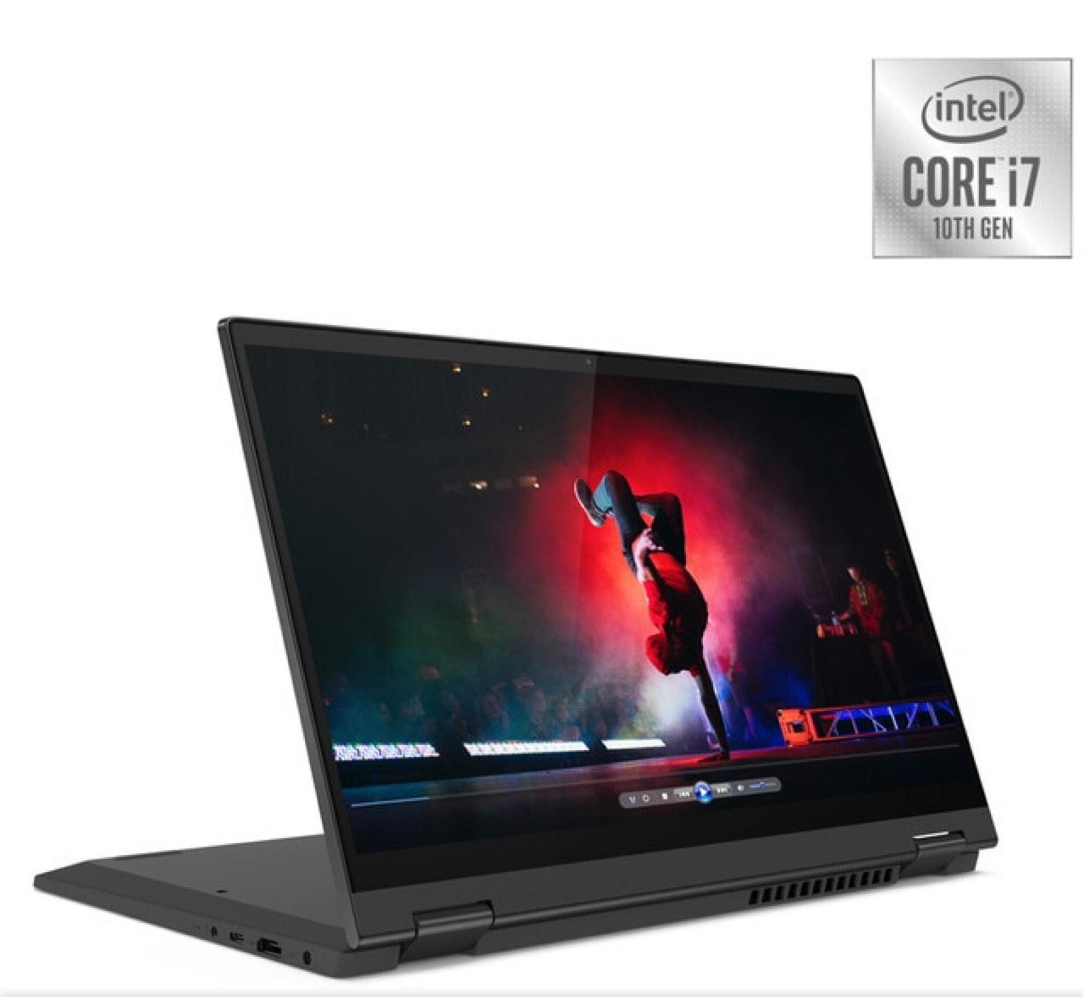 Lenovo IdeaPad Flex 5 4IIL05, i7, 8GB, 256GB SSD, GeForce MX330 2GB, W10