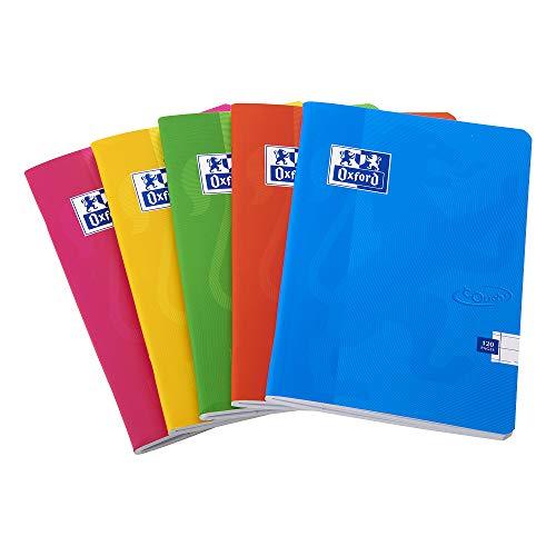 Cuaderno grapado de tapa blanda, de la marca Oxford Touch, tamaño A4