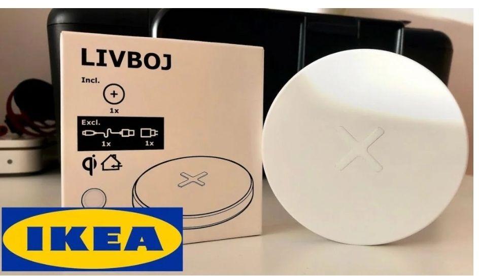 Cargador inalámbrico Ikea LIVBOJ