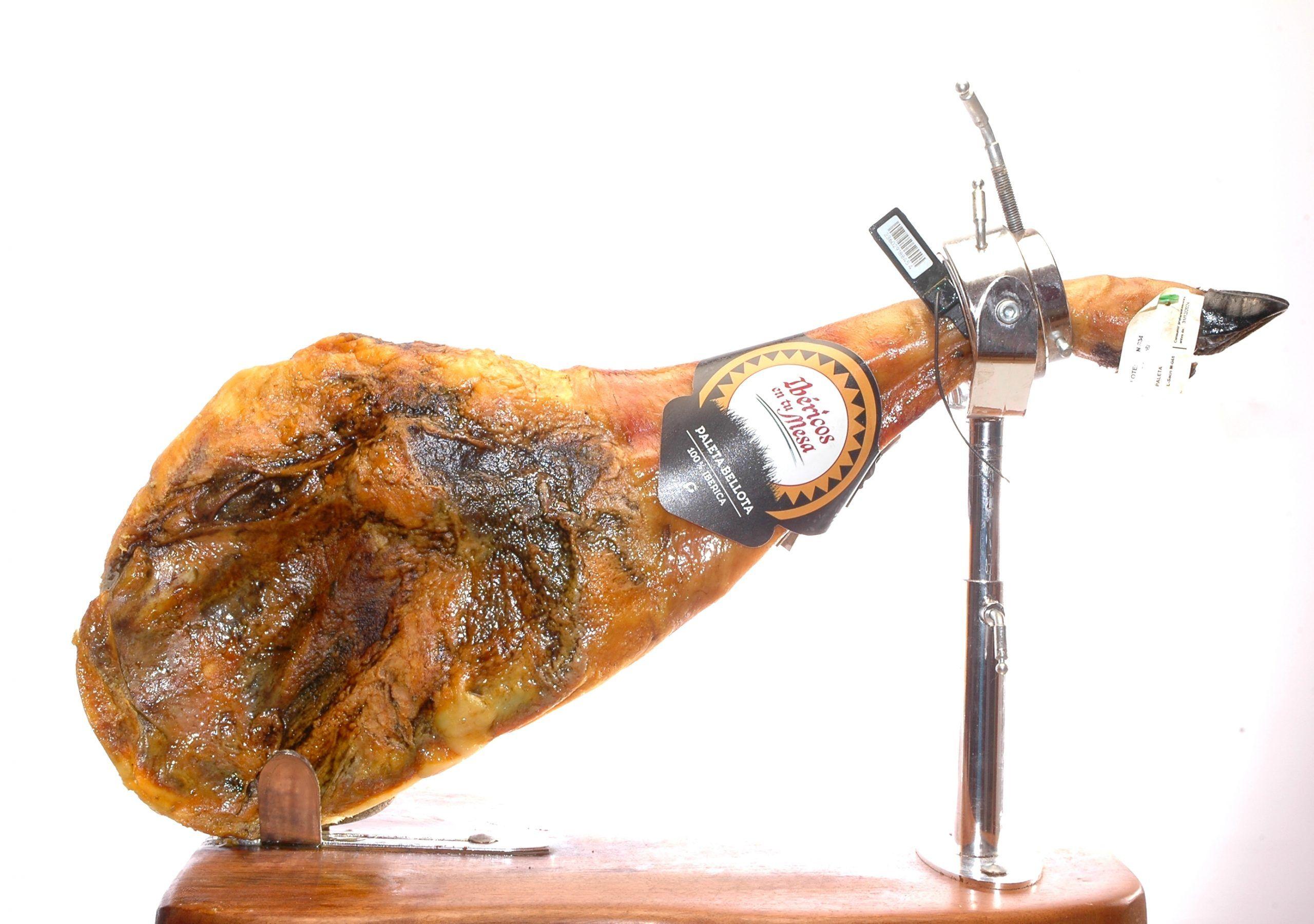 PALETON de bellota 100% Ibérico 6kg brida negra certificada.