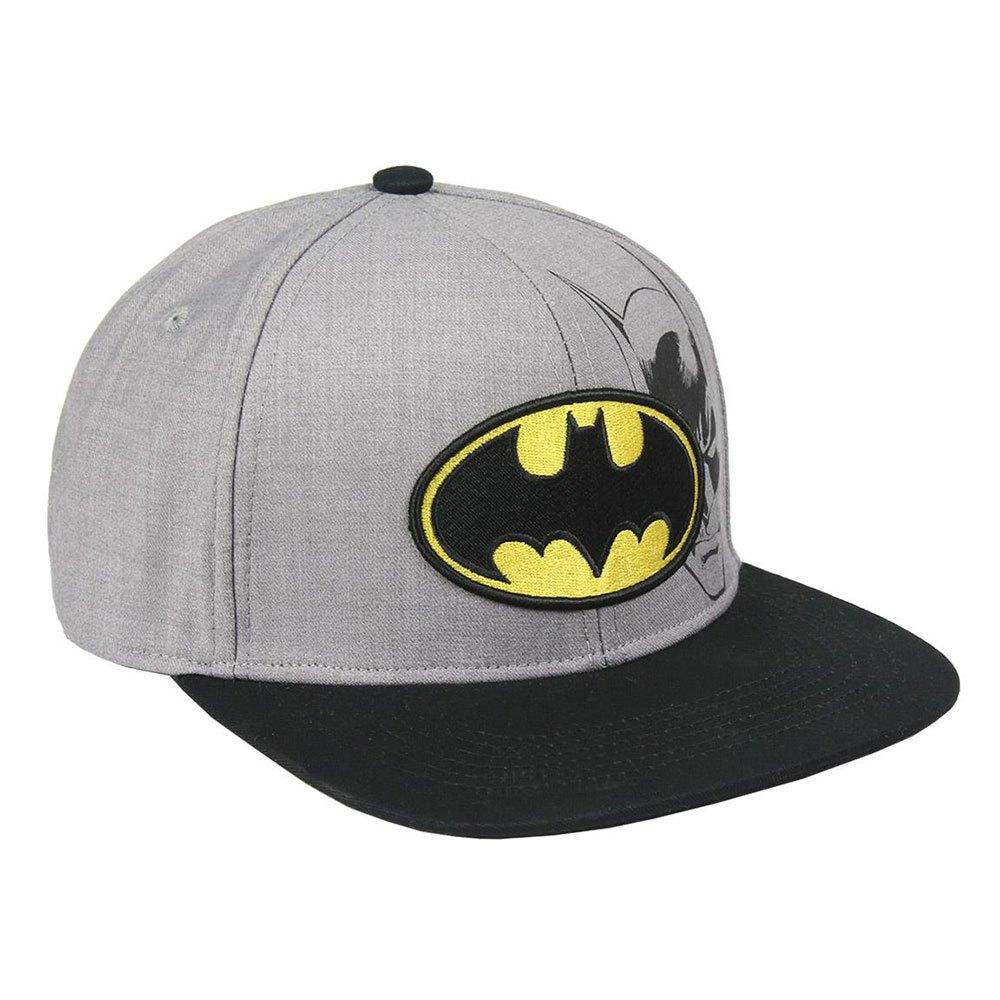 gorra para niño con logotipo de murcielago y cara de batman