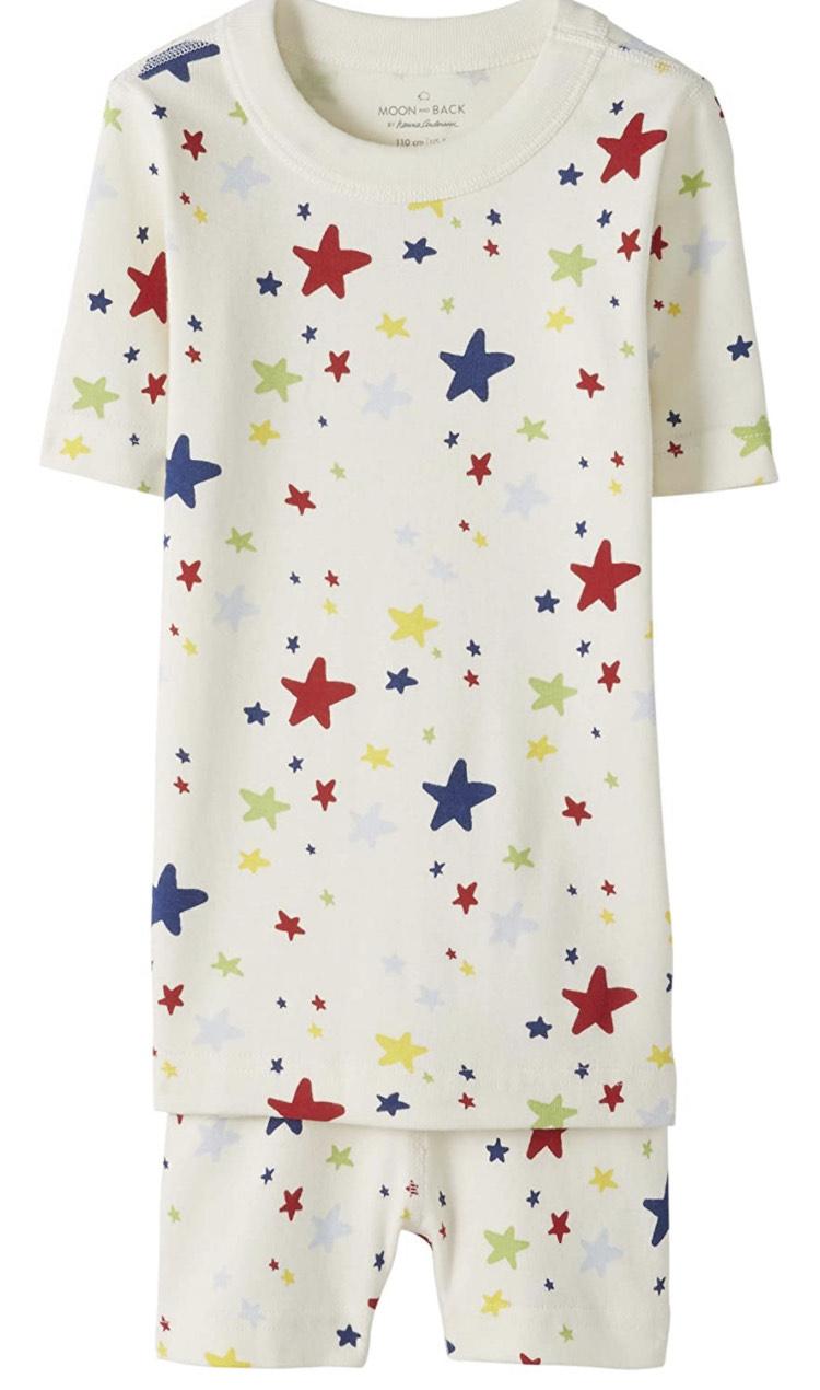 Pijama corto infantil Talla 8 años