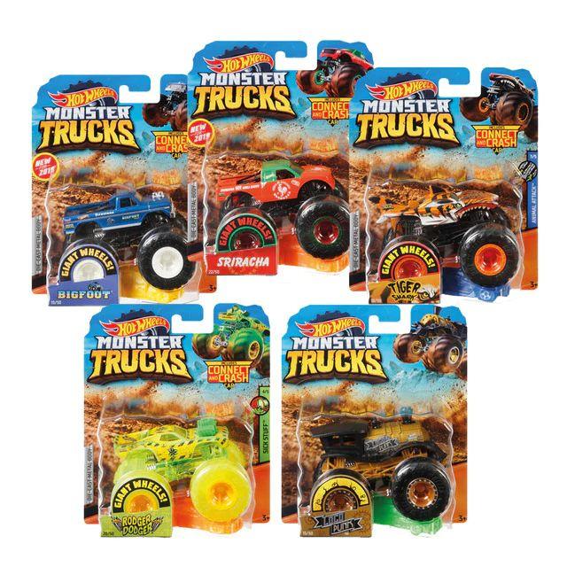 Hot Wheels Monster Truck 3x2!