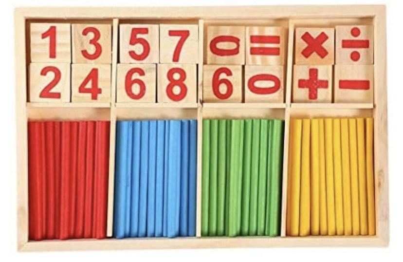 Juego madera aprende matemáticas