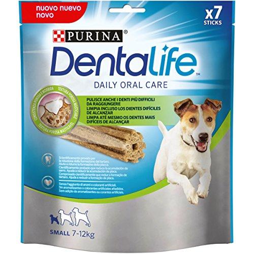 Purina Dentalife Golosina Dental para Perro Pequeño, Pack de 5 x 115 g - Total: 575 g