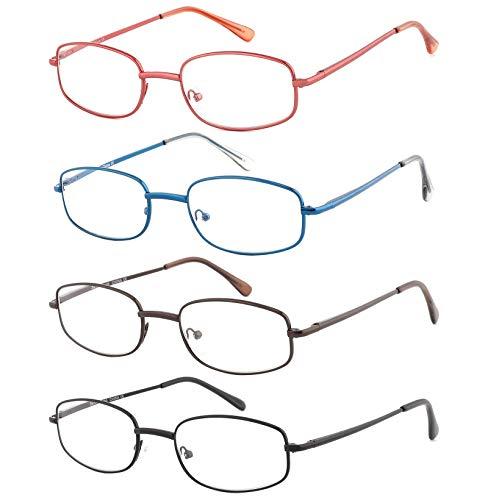 4 Unidades Gafas Lectores Unisex (marcar casilla de descuenta + código)