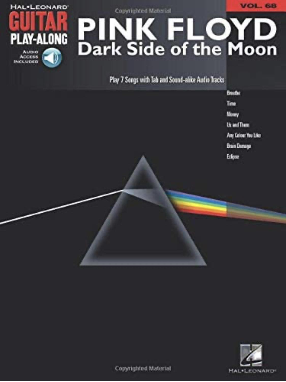 Pink Floyd Dark Side of the Moon Guitar