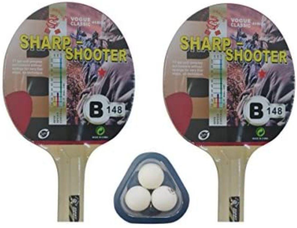 Set de Ping Pong (2 Palas + 3 Pelotas) + Funda con cremallera