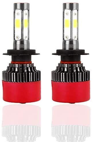 LED Akozon Bombillas Faros Delanteros EV16 H7 2800LM 6000K