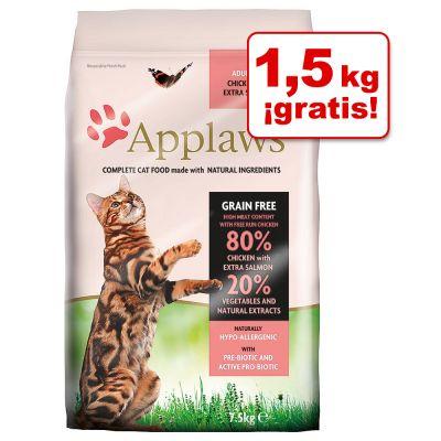 Applaws pienso gama alta gatos adultos sin cereales, 7,5 kg en oferta. Además 5% descuento adicional usando código ZOOCUMPLE
