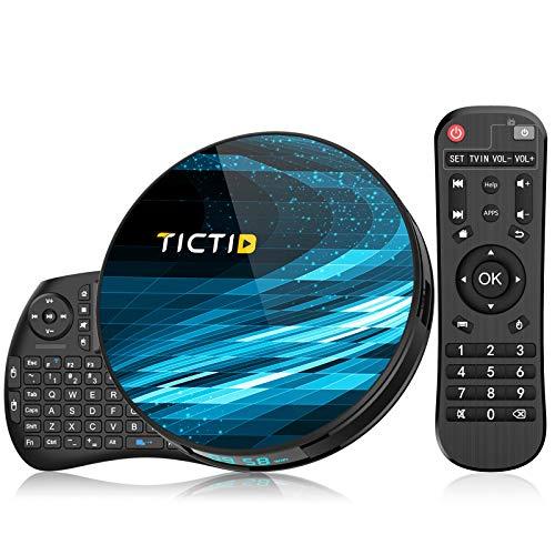 TV Box T8 MAX4G+128Gcon Mini Teclado inalámbirco con touchpad