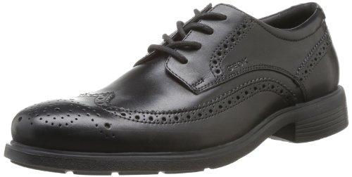 Geox U Dublin, Zapatos de Cordones Talla 47