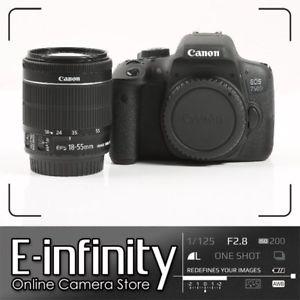 Canon EOS 750D + objetivo = 449€