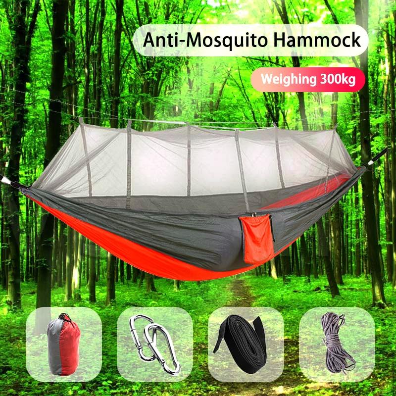 Hamaca de acampada Go Swing con mosquitera
