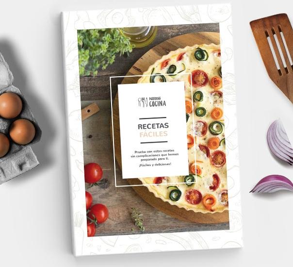 Recetas Fáciles Nestlé Cocina - Recetario en PDF Gratis