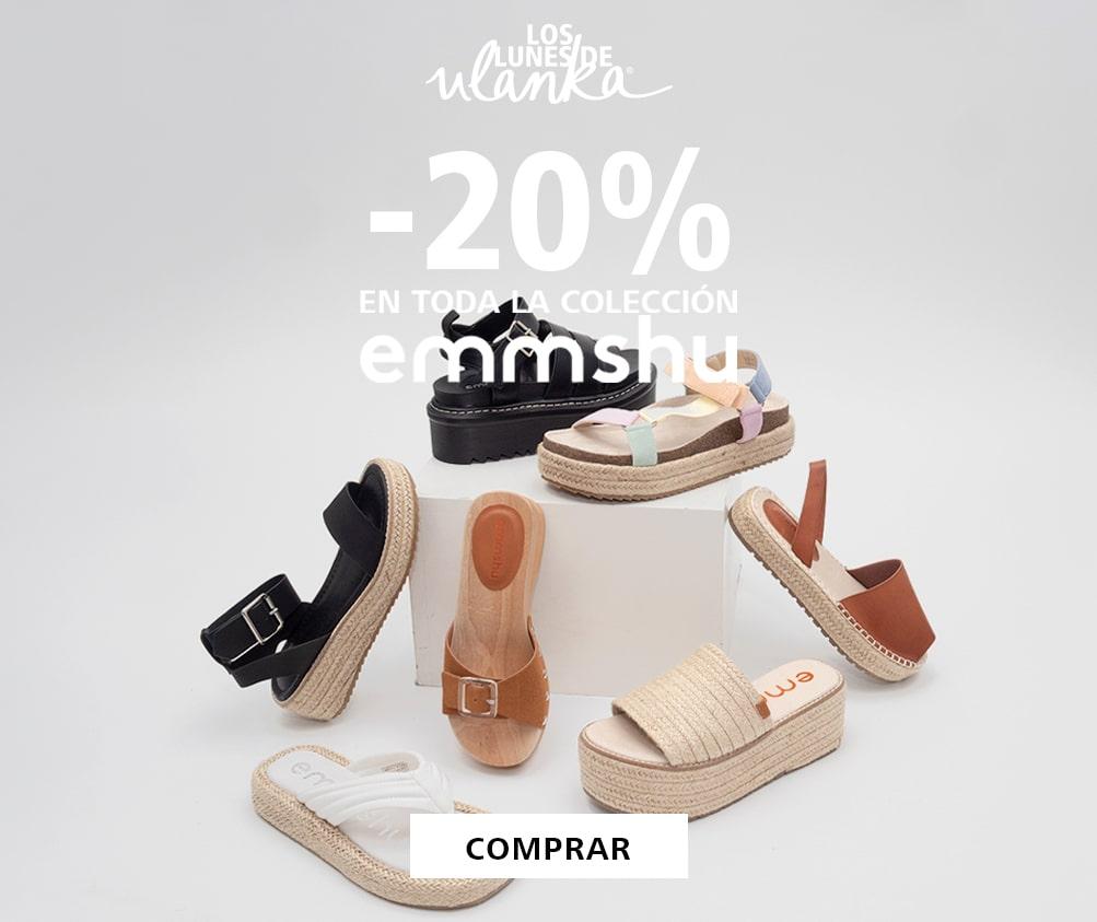 20% de descuento en marca EMMSHU en ULANKA (Mujer)