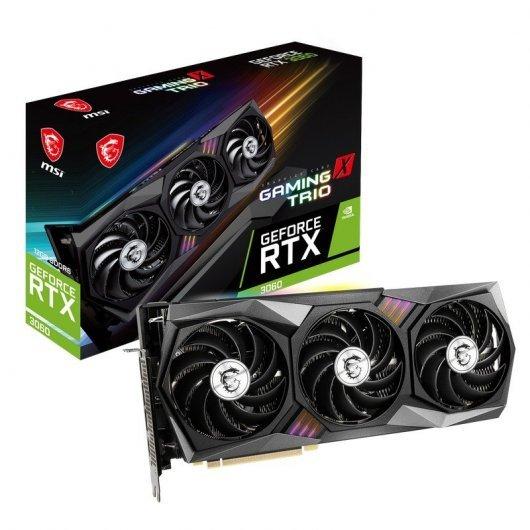 MSI GeForce RTX 3060 GAMING X TRIO 12GB GDDR6