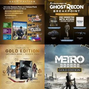 GOLD Editions - Assassin's Creed, Metro Exodus, South Park, Far Cry, Tom Clancy's y otros por menos de 12€