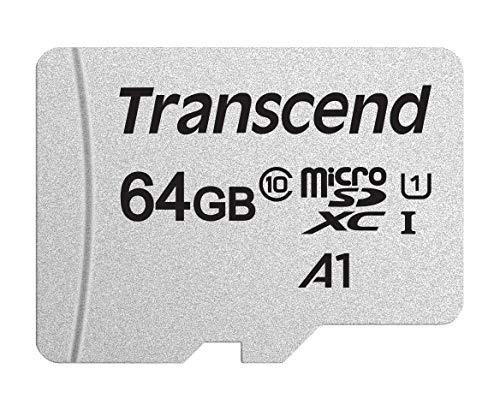 Transcend Tarjeta MicroSD de 64GB