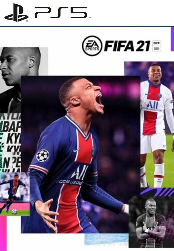 FIFA 21 para PS4 y PS5 en formato físico