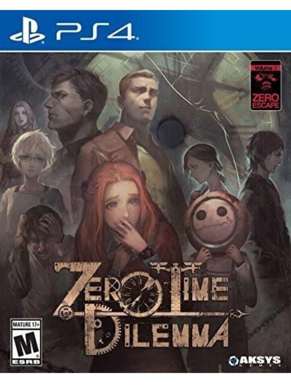 Zero Escape Zero Time Dilemma (PS4)