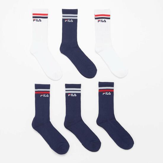 Pack de 6 calcetines Fila (Talla 40-46)