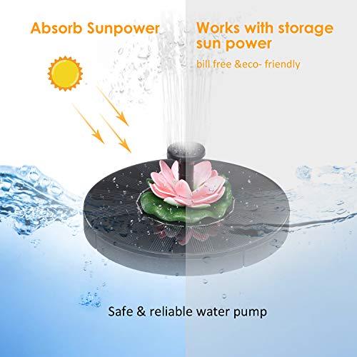 Fuente Solar Bomba Kit con 3 Boquillas