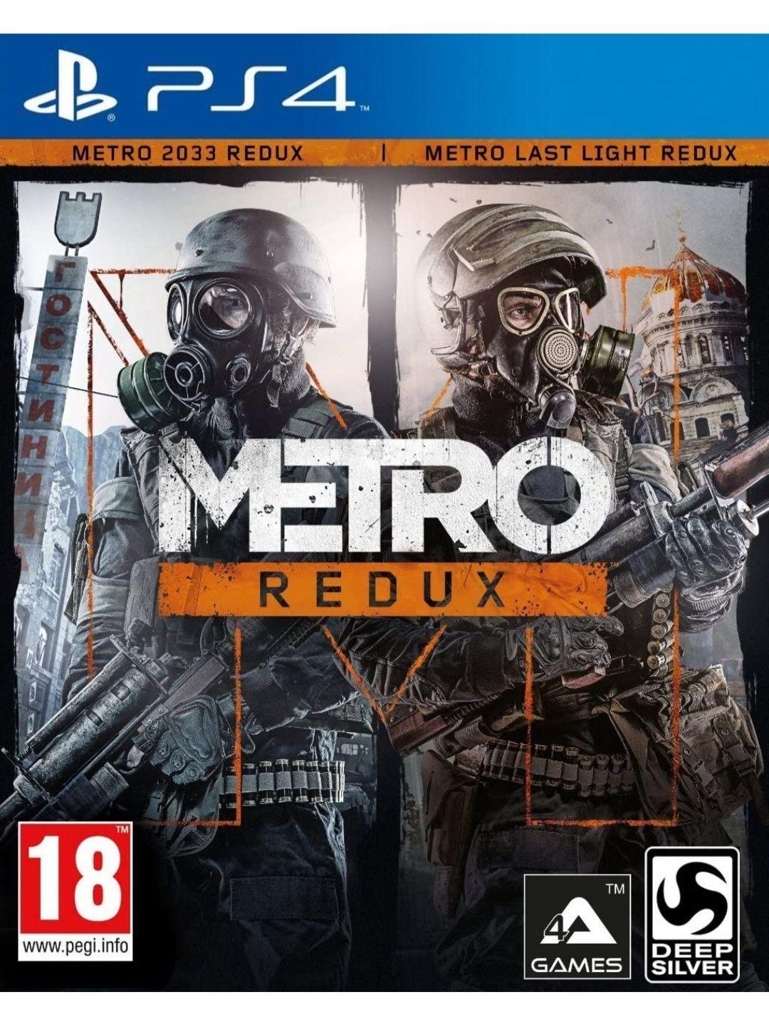 Metro Redux Double Pack 2033 + Last Light (PS4)