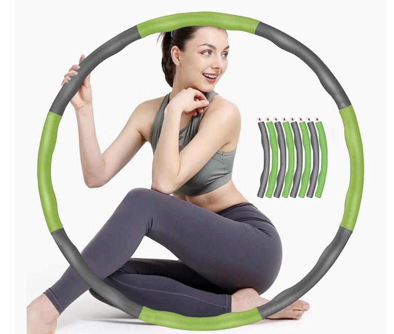 Hula hoop desmontable de peso ajustable