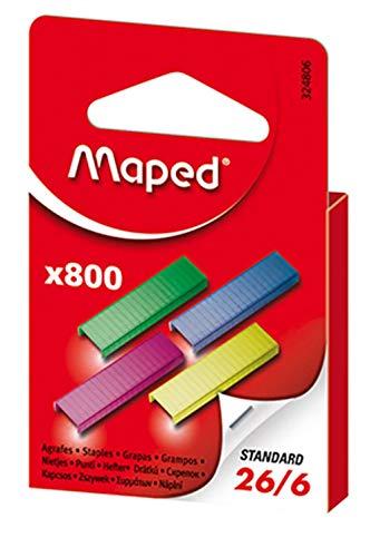 800 Grapas de Colores - Maped