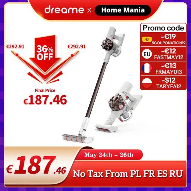 Dreame – Aspiradora portátil sin cables XR Premium