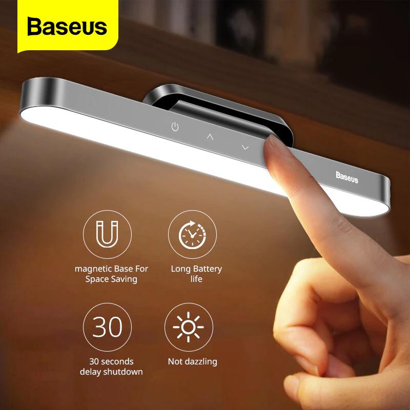 Baseus Lámpara colgante de luz LED magnética para mesa