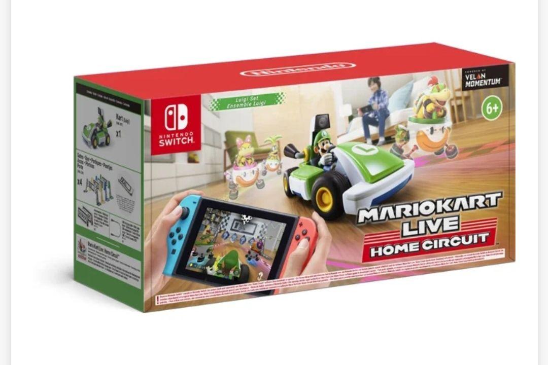 Juego Nintendo Switch Mario Kart Live: Home Circuit - Luigi (Carreras - M6)