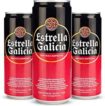 24 Latas cerveza Estrella Galicia solo 9.4€