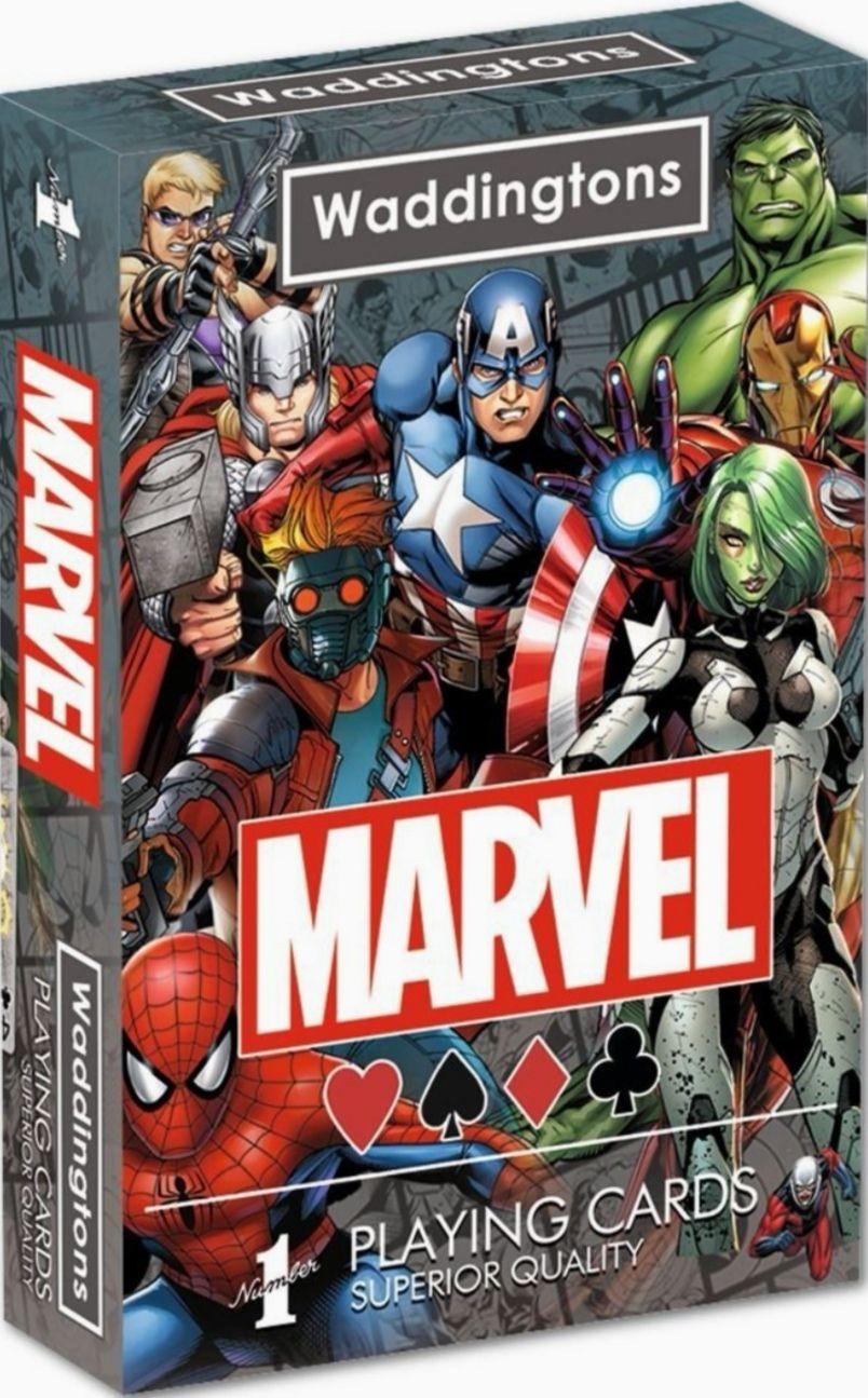 Marvel Universo Waddingtons. Juego de Cartas
