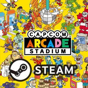 STEAM - Capcom Arcade Stadium + Mini-Album + 1943 -The Battle of Midway + Wallpaper +