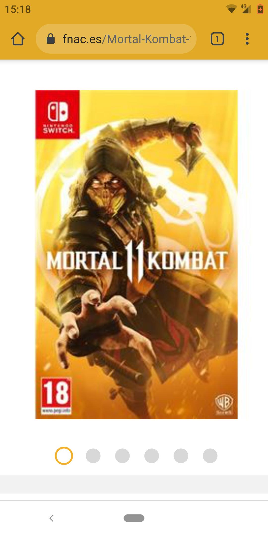 Mortal Kombat 11 - Nintendo Switch,