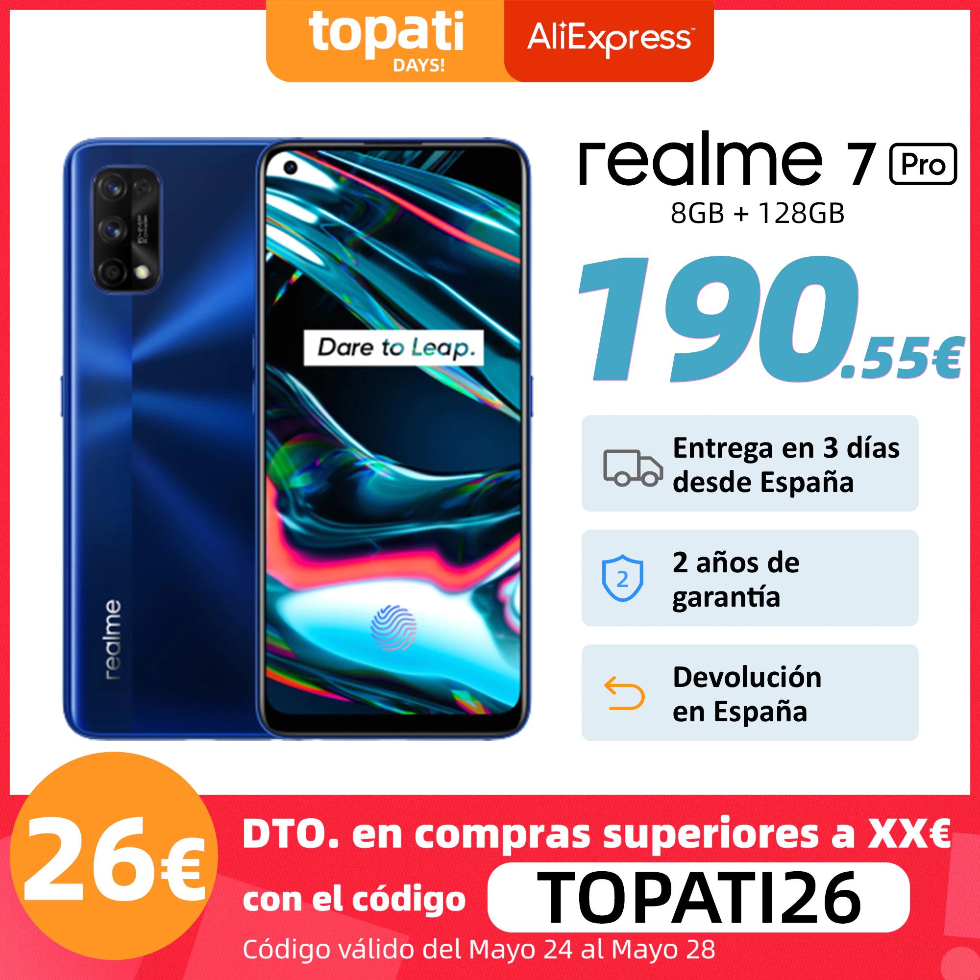 realme 7 Pro Versión Global 8GB 128GB DESDE ESPAÑA