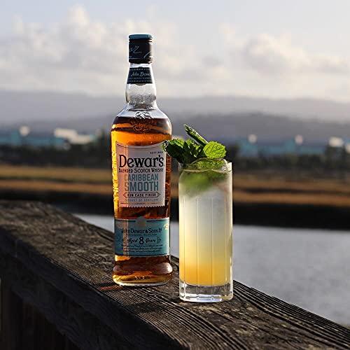 DEWAR'S Whisky Escocés, 8 Años Caribbean Smooth 700ml