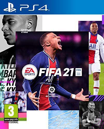 FIFA 21 para PS4 formato físico (a 17€ en FNAC si eres socio)
