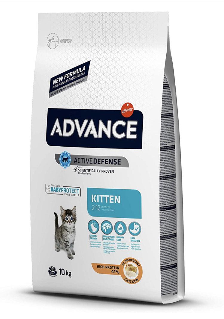 ADVANCE Kitten - Pienso para Gatitos - 10 Kg