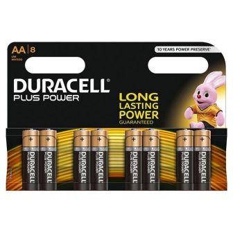 3 paquetes de 8 pilas Duracell, cada uno solo 3,26 Euros!!!