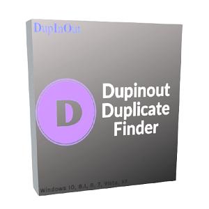 Buscador de duplicados de Dupinout (LICENCIA GRATIS)